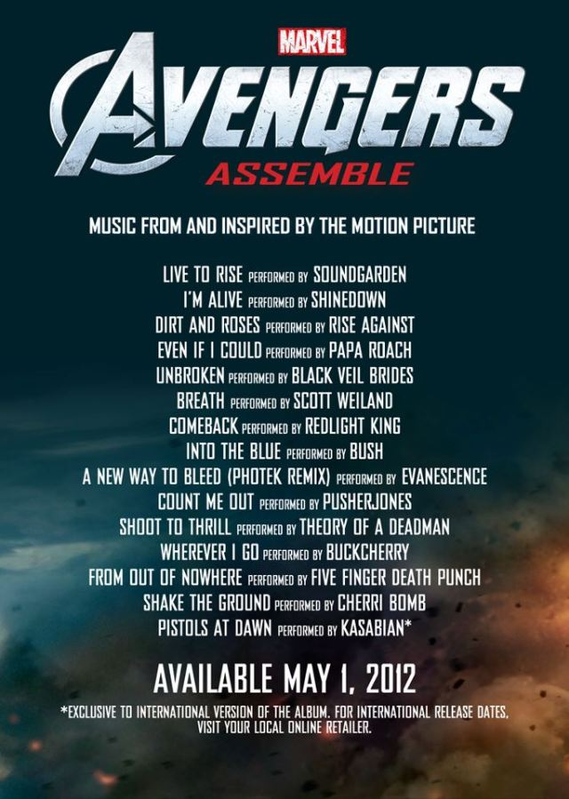 Avengers Assemble: The Album?